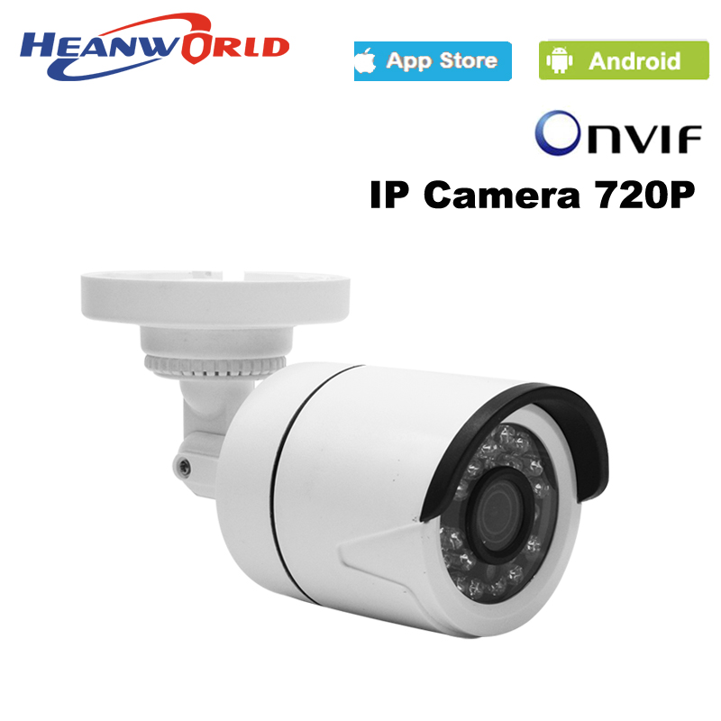 bilder für Mini ip-kamera 720 P H.264 1,0 Megapixel HD ONVIF Ip-kamera P2P 24 stücke LEDs Nachtsicht Sicherheit Netzwerk IP Cctv-kamera IP Cam