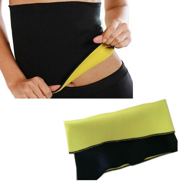 KLV Unisex Health Neoprene Slimming Body Yoga Sweat Shaper Wrap Sauna Waist Slimmer Controlling Weight Scoliosis Correction Belt