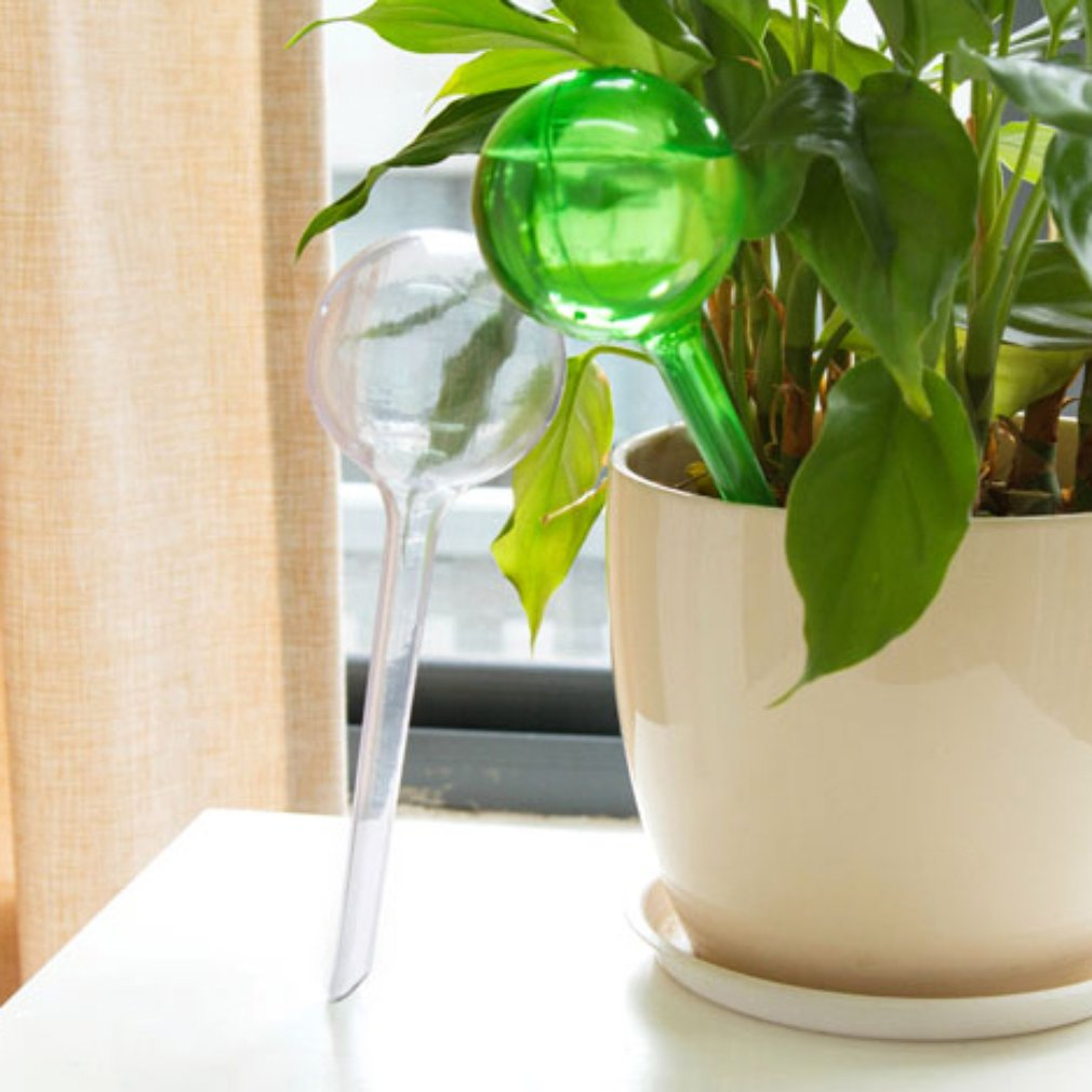 Practical Design Pvc Self Watering System Imitation Glass