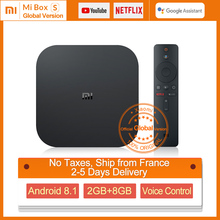 Xiaomi MI Box S Android 8.1 2G+8G Google Assistant Support BT Dual-Band WIFI Netflix Google Player MI Box S 4K Xiaomi MI Box S