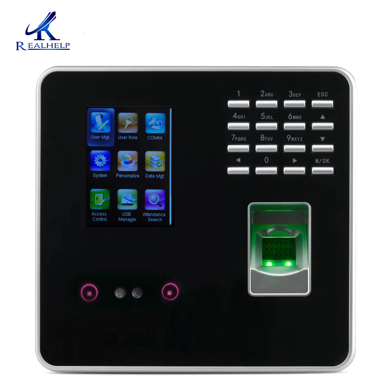 ZKTECO 3969 рабочего времени и контроля доступа терминал считыватель отпечатков пальцев поддельные лица обнаружения быстрое распознавание