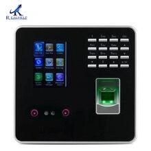 ZKTECO 3969 время посещаемости и контроля доступа терминал считыватель отпечатков пальцев поддельное распознавание лица быстрое распознавание