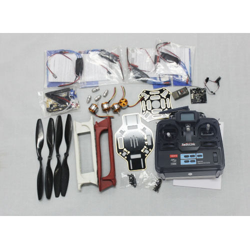 F02192-H JMT RC 4 Axle Multi heli UFO ARF / Kit : F450 + KK + Motor + HOBBYWING ESC + 6CH RX TX rc quadcopter ufo 4axle kit hobbywing 10a esc 2400kv brushless motor straight pin flight control opensource f04024 a