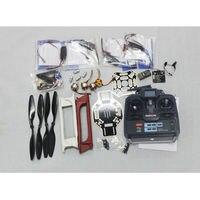 F02192 H JMT RC 4 Axle Multi heli UFO ARF / Kit : F450 + KK + Motor + HOBBYWING ESC + 6CH RX TX