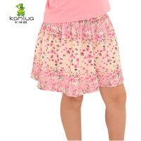KAMIWA 2015 New Fashion Baby Girls Kid Children Skirt Flower Girls Skirts Beach Clothes Costume Tulle