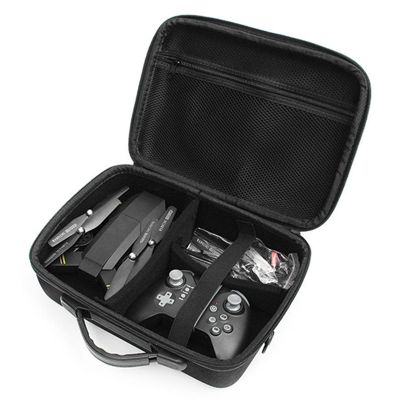 VISUO XS809HW Umhängetasche Handtasche Tragetasche Box Koffer Für Eachine E50 E51 E52 E55 RC Quadcopter Modelle Schwarz