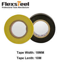 1 Piece Available PVC Electrical Insulation Insulated Tape Safety Adhesive Tape for High Temperature Flame Retardant Insulation