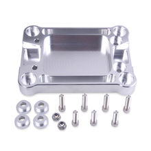 Adapter Motor With Screw Gear Lever Base Aluminum Accessories Shifter Box Plate Rustproof Practical Modified For Honda Civic