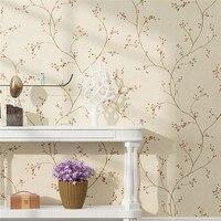 עץ דובדבן מודרני באיכות גבוהה שולחן ספת טלוויזיה בסלון חדר שינה טפט רקע טפט לקירות 3 d Beibehang