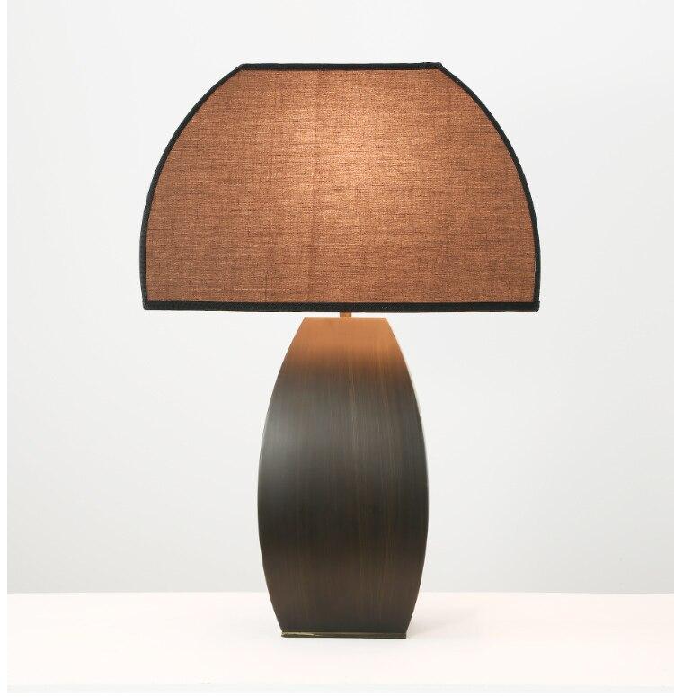 Nuovo Cinese Lampade Da Tavolo designer Nordici modello camere soggiorno camera da letto comodino lampada da tavolo lampada da scrivania LU80123