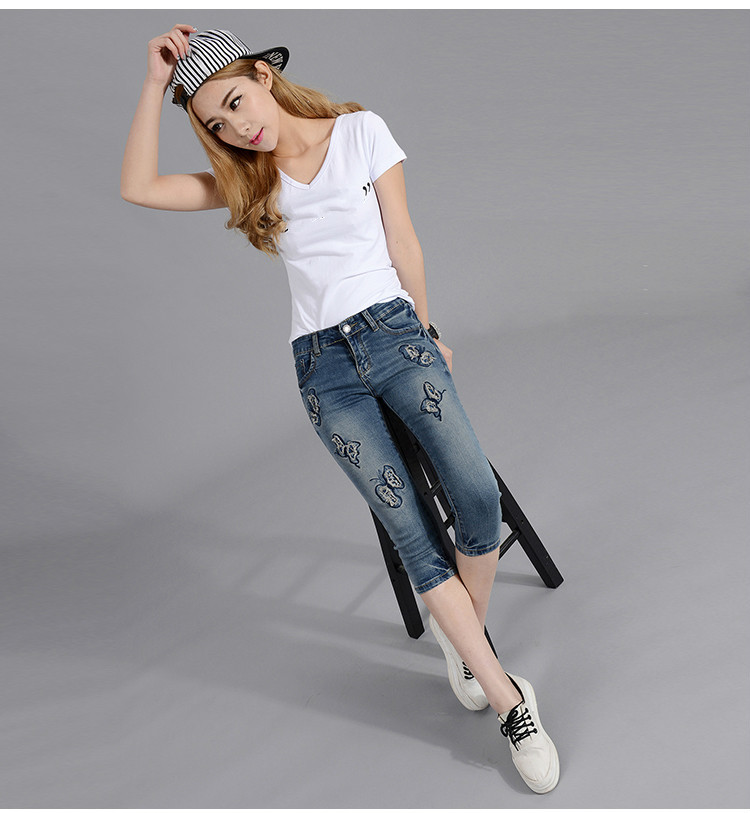 jeans moda azul casual 10