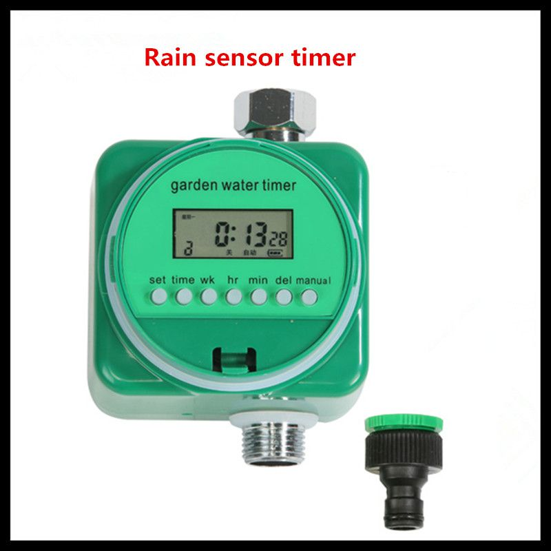 все цены на Micro-spray automatic spray smart timer (rain sense timer plus connector) automatic timer irrigation timer watering controlle онлайн