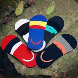10 пар/лот Для мужчин Красочные Носки хлопковые носки в полоску стелс повседневные мужские Носки оптовая продажа Для мужчин Носки