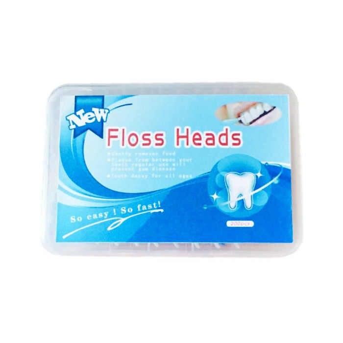 Hot sal 200 sztuk/pudło wykałaczki z tworzywa sztucznego silikonowe nić dentystyczna zębów Stick Brush jednorazowe do pielęgnacji jamy ustnej zębów międzyzębowe czyste narzędzia