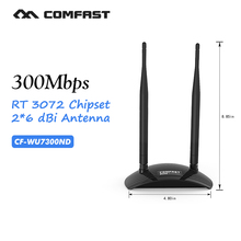 300Mbps wifi adapter dongle wifi usb antenna computer usb network card long range for WindowsXP 7