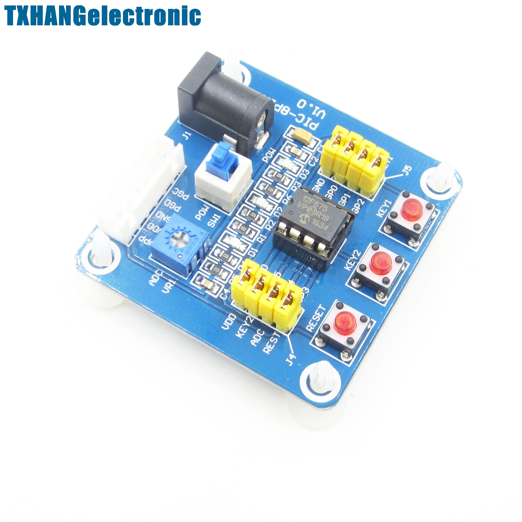 PIC12F675 Development Board Microchip PIC Emulator PICKit2 Debugger Programmer