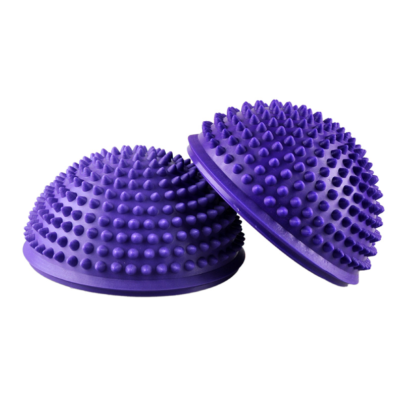 Yoga Half Ball Fitness Equipment Kids Elder Durian Massage Mat Ball Exercise Balance Ball Point