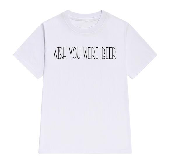 HTB1vn6bPXXXXXcKXpXXq6xXFXXX5 - Wish You Were Beer Women T Shirt PTC 14