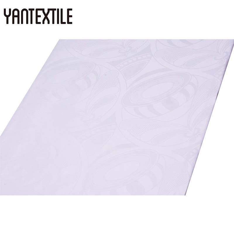YANTEXTILE 2018 New Arrival African Tissu Bazin Riche Getzner Fabric Maxi Dresses For Women Guinea Brocade