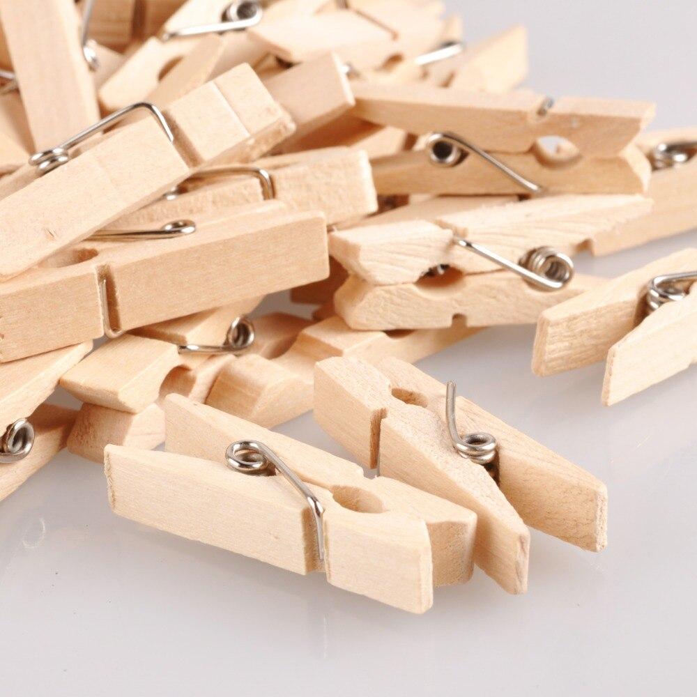 Mini de madera foto decoración tejer costura acolchado pinza Clips ...
