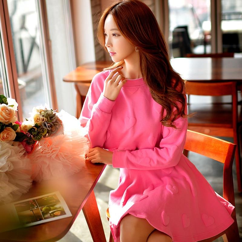 Original New Design 2016 Brand Spring and Autumn Kawaii Sweatshirt Fashion Short Green Hoodies Women Wholesale
