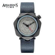 Часы Assassin's Mens Watches Лучшие бренды Роскошные водонепроницаемые часы мужских часов Кожаные спортивные наручные часы Часы Мужские водонепроницаемые AT016