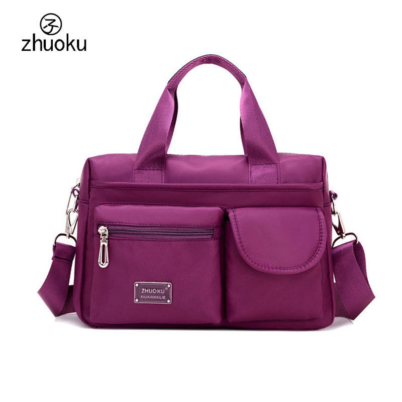 Multi-pocket ladies hand bag Large capacity handbag Brand design shoulder bags High quality crossbody bags for women ZK1005 high quality authentic famous polo golf double clothing bag men travel golf shoes bag custom handbag large capacity45 26 34 cm