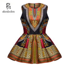 African blouse Women dashiki fashion top traditional clothing african clothes women print shirt plus size