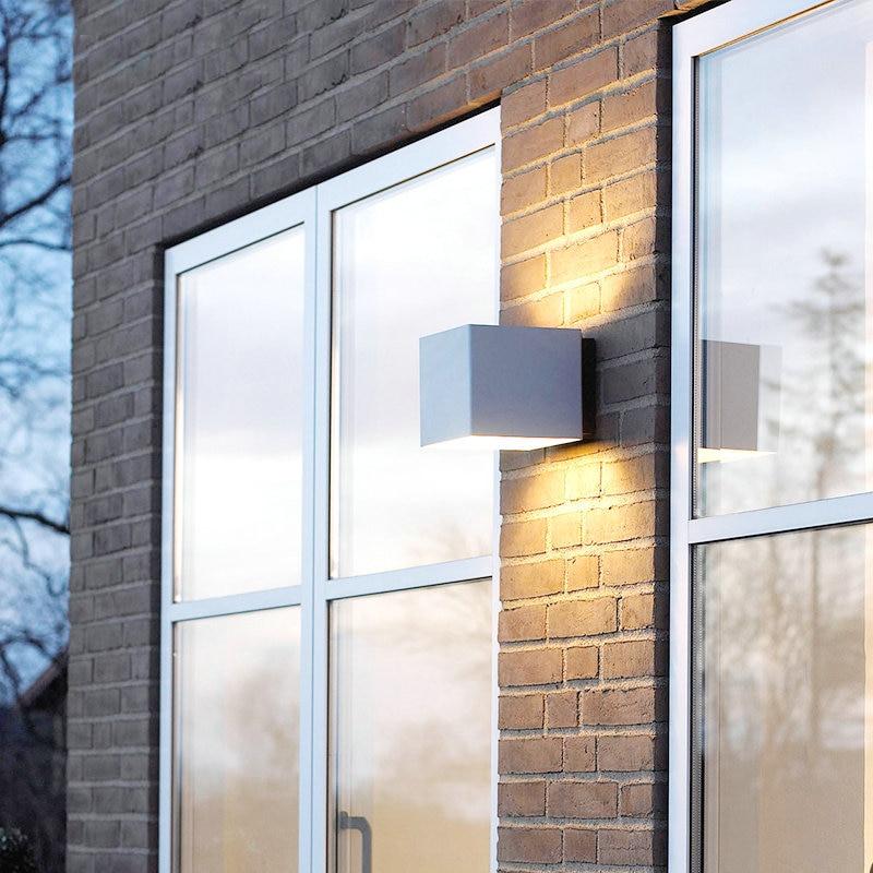 A prueba de agua al aire libre IP65 Aplique Moderno Lámpara de Pared - Iluminación exterior - foto 4