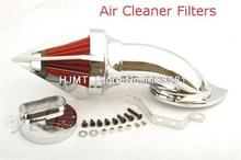 Cone Spike Air Cleaner for YAMAHA V-Star 1100 Dragstar XVS1100 1999-2012 CHROME Motorcycle Spike Air Cleaner Kit