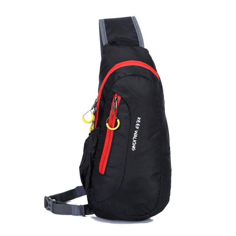 8f6712ade Caliente casual Fanny bolso cintura bolso hombres impermeables de nylon del  pecho femenino bolsa cinturón teléfono bolsa bolsas feminina