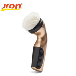 Jron Rechargeable Electric Shoe Brush 4 Brush Heads Shoe Machine Shoe Shine Multi-function Handheld Mini Electric Shoe Polisher