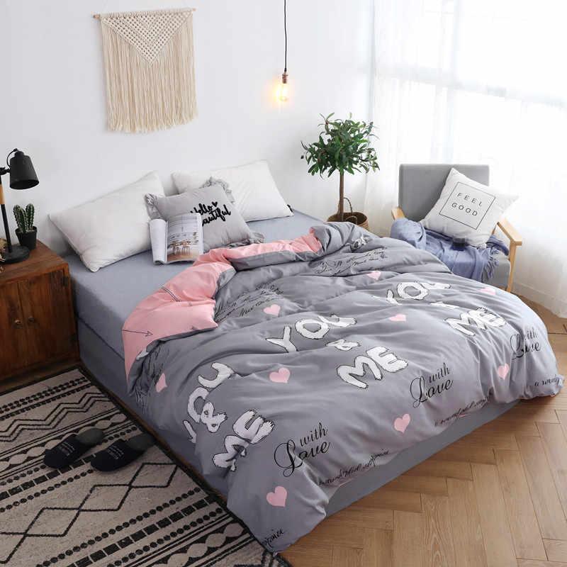 Duvet Cover Adult Kids Soft Cotton Bedding Bag Single Twin Full Queen King Size Big Bedspreads Quilt Comforter Bed Linen14
