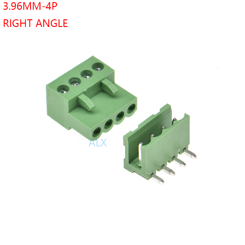 5 pin Terminal Block 5.00mm //  Pluggable Quick Connector Plug QTY 10