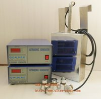 1500W immersible ultrasonic transducer 17khz/20khz/25khz/28khz/30khz/33khz/40khz Select only one frequency
