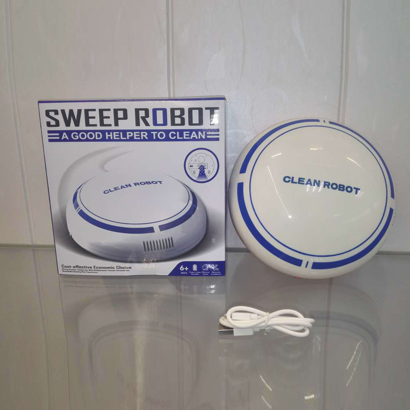 Robotic Vacuum Cleaner Automatic Floor Dirt Cleaning Robot Mop Carpet Dust Sweep
