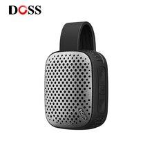 DOSS Mini zewnętrzny przenośny bezprzewodowy głośnik Stereo Bluetooth z Traveler Hook IPX4 wodoodporny pyłoszczelny mini głośnik na PC
