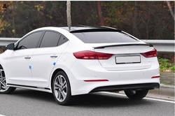 ABS задний багажник багажника спойлер отделка крыло Обложка для hyundai Elantra 2011 2012 2013 2014 2015 2016 седан