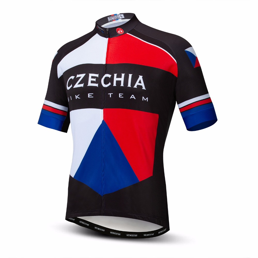 Mountain Bike Jersey Short Sleeve Men Breathable Biking Wear MTB Cycling Shirts