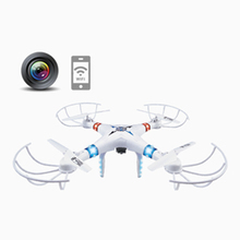 JXD-396W 4CH 2.4G Big-size Aerocraft 6-Axes Drone With Camera Smartphone Control FPV Real-Time Streaming Video RC Quadcopter