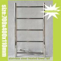 Free Shipping 304 Towel Rail Stainless Steel Heated Towel Warmer Mirror Polish Towel Warmer 19Bars Size