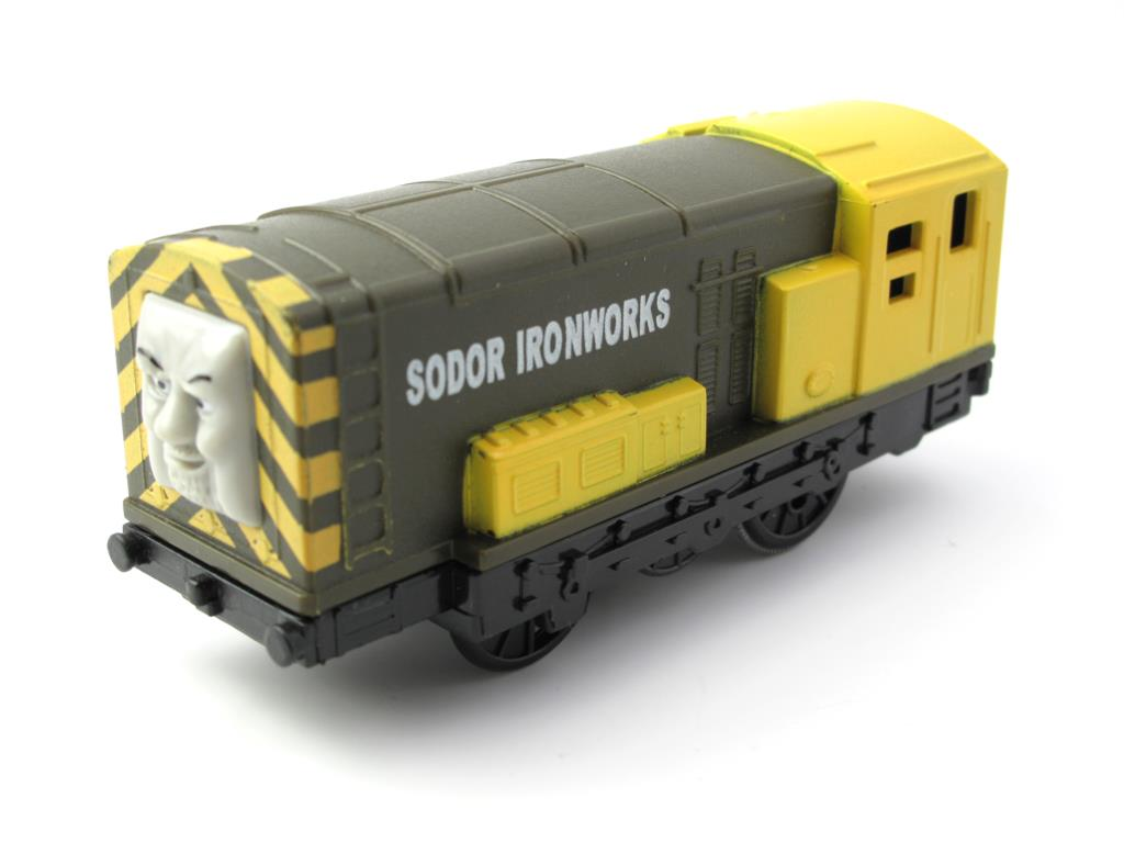 Electric Thomas Train T073E IRON BERT Thomas And Friends Trackmaster Magnetic Tomas Truck Engine Railway Toys for Boys