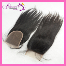 In Stock Brazilian Virgin Hair Lace Closure Swiss Straight Lace Frontal Closure Human Hair 7A Grade Straight Lace closure