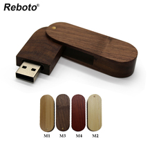 wooden USB Flash Drive 4gb 8gb 16gb 32gb 64gb External Storage USB disk Memory Stick free shipping