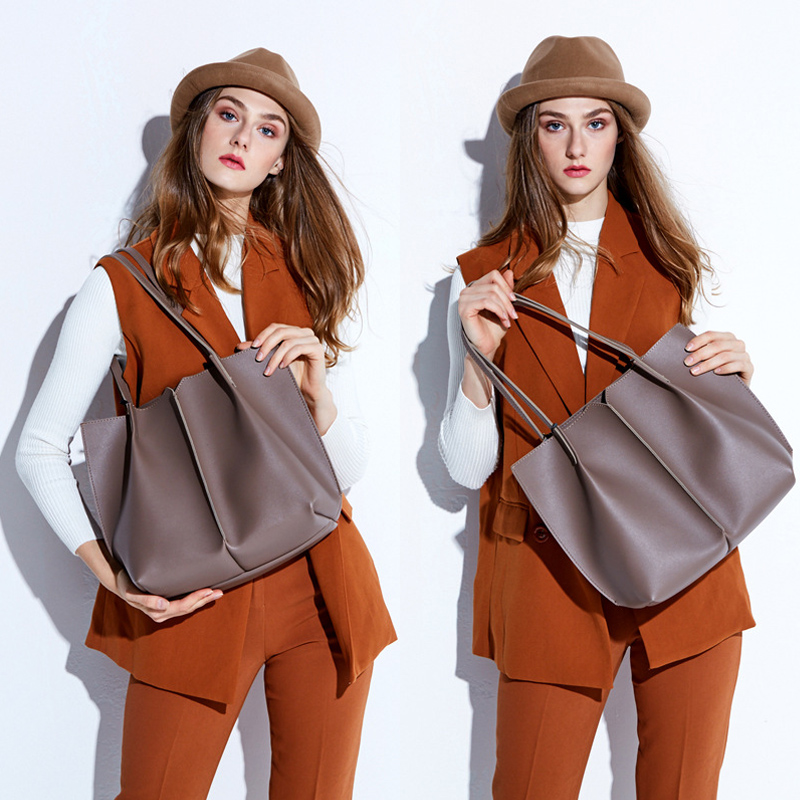 2018 New Genuine Leather Women Bag Big Handbag Fashion Top-handle Tote Bag Ladies Large Hand Bags Female Shoulder Bag Bolsas Sac new product sales zooler brand zipper cowhide bag top handle shoulder bag simply solid genuine leather bag women bag bolsas c108