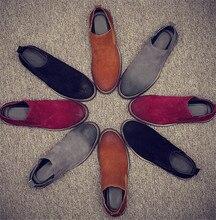 England really Pima Ding boots plus velvet cotton men's winter snow shoes desert SUB2170