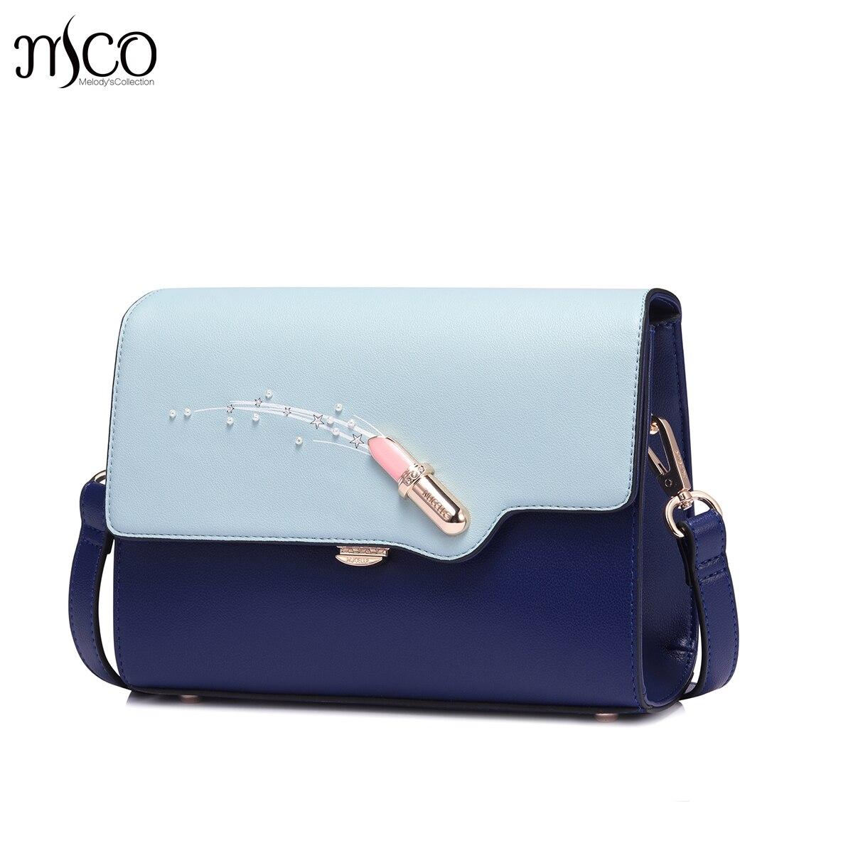 где купить 2017 Summer Diamonds Lipstick Clutch Messenger Bag For Women Panelled PU Leather Beading Handbags Small Flap Shoulder Handbag по лучшей цене