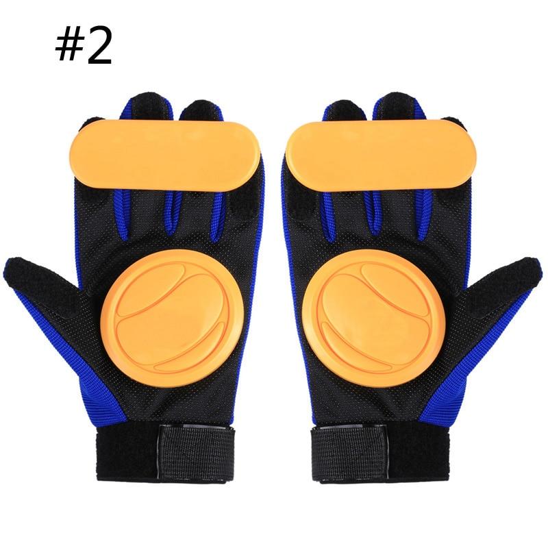 Planche à roulettes glisser gants Andux planche à roulettes gant Longboard bas colline Skate longue planche glisser gants Skateboard accessoires