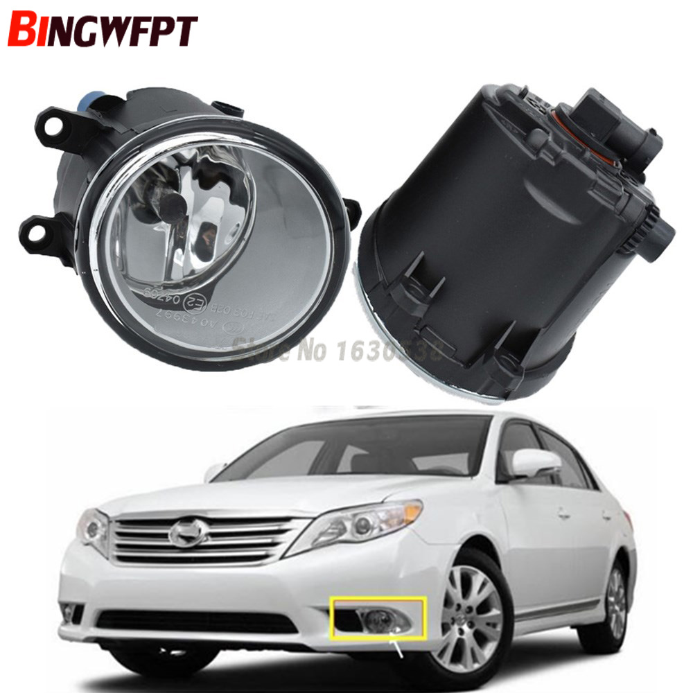 2pcs/set (Left + Right) Car Styling High Quaity Halogen Lamps Fog Light For Toyota Avalon 2012 2013 2014 2015