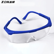ZOHAN 5 Pcs Welding Punch Work Safety Dust Laboratory UV Eye Protection Glasses Clear Tanning Laser Protection Goggles Eyewear ghp green laser protection laser safety glasses laser protection goggles glasses available 266nm 355nm 515nm 532nm
